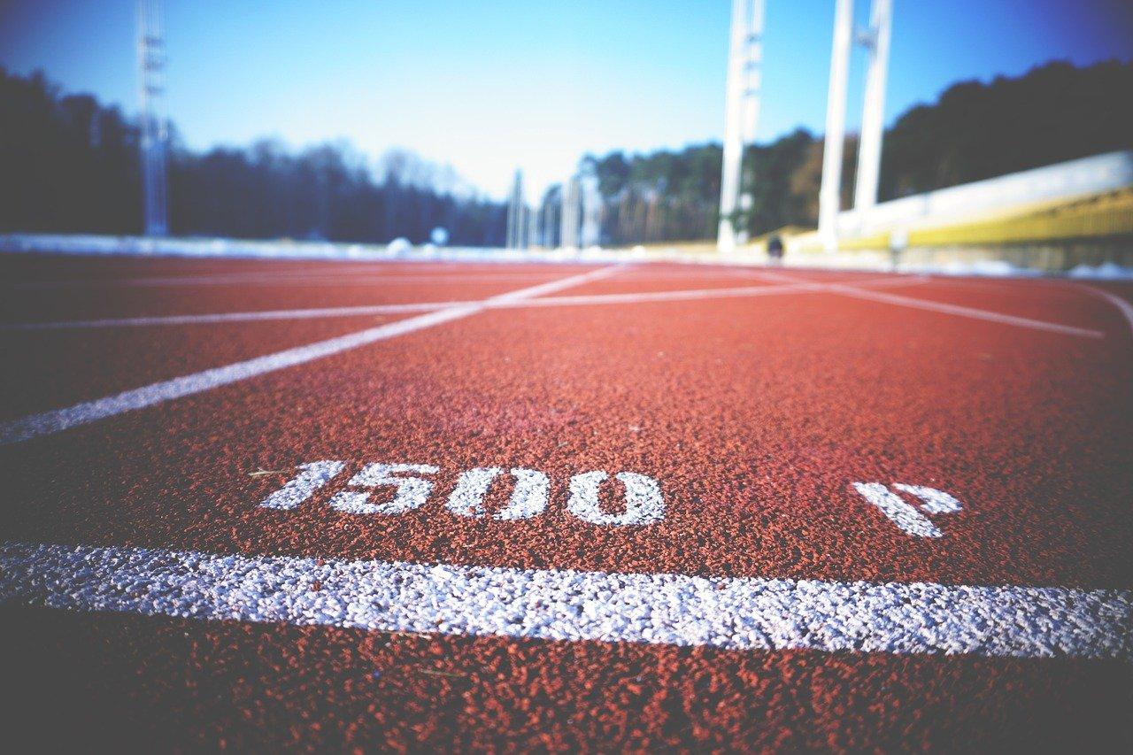 running, track, field